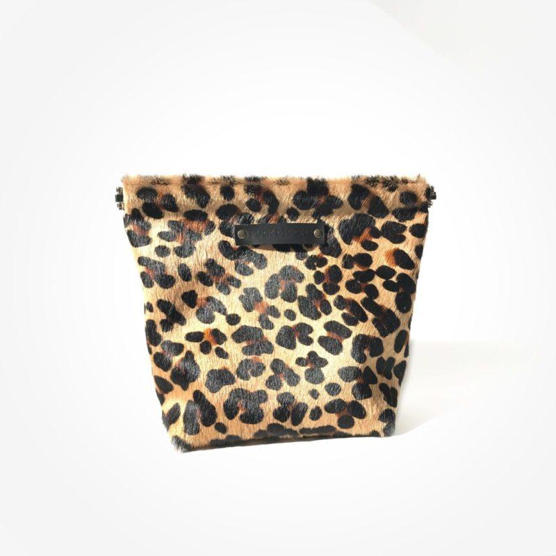 Make-up tas luipaard